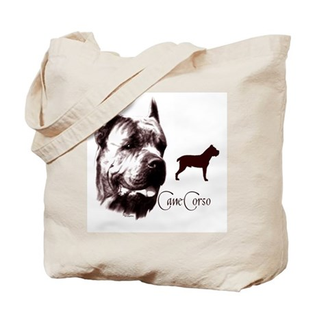 Cane Corso on Tote Bag