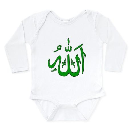 Allah Long Sleeve Infant Bodysuit