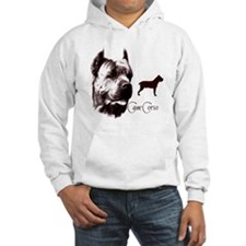 Cane Corso on Hoodie