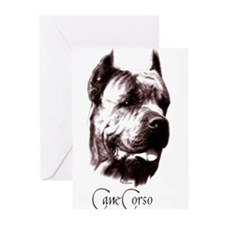 Cane Corso on Greeting Cards (Pk of 10)