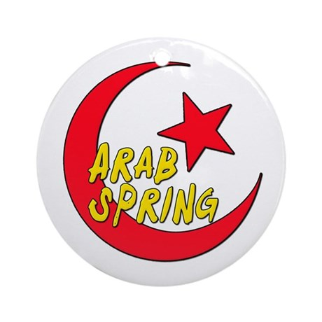 Arab Spring Ornament (Round)