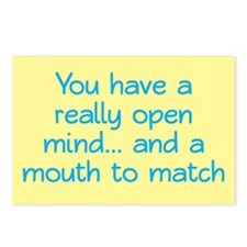 Open Mind and Mouth Postcards (Package of 8)