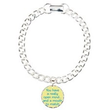 Open Mind and Mouth Bracelet