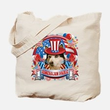 American Pride Husky Tote Bag