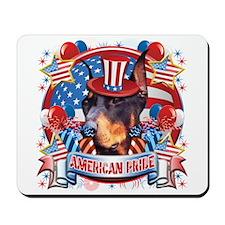 American Pride Dobeman Mousepad