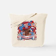 American Pride Dachshund Tote Bag