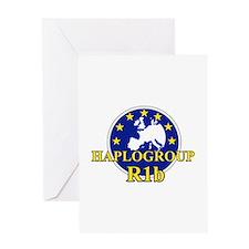 Unique Haplogroups Greeting Card