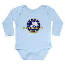 Unique Haplogroups Long Sleeve Infant Bodysuit