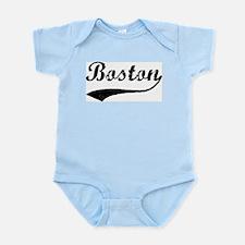 Vintage Boston Infant Creeper