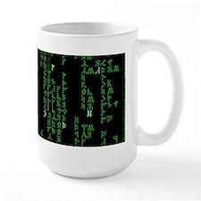Viking Runes Matrix Mug
