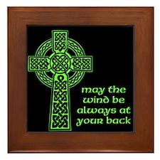 Celtic Blessing Framed Tile