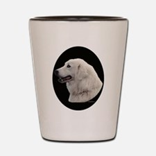 Kuvasz Portrait Shot Glass