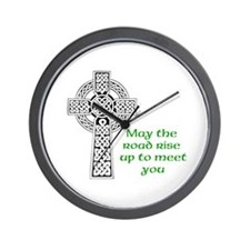 Celtic Blessing Wall Clock