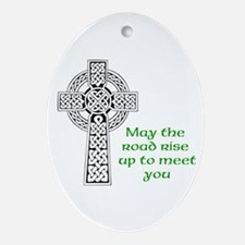 Celtic Blessing Ornament (Oval)