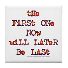 First-Last/Dylan Tile Coaster