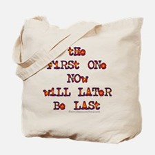 First-Last/Dylan Tote Bag