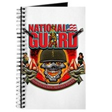 US Army National Guard Skull Journal