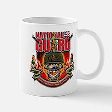 US Army National Guard Skull Mug