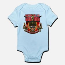 US Army National Guard Skull Infant Bodysuit