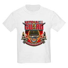 US Army National Guard Skull T-Shirt