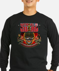 US Army National Guard Skull T