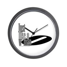 Just Like a Woman/Dylan Wall Clock