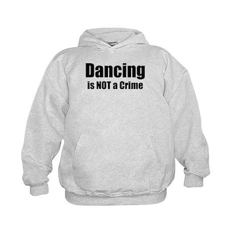 Dancing is Not a Crime Kids Hoodie