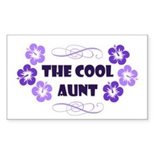 The Cool Aunt Decal