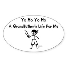 A Grandfather's Life For Me Decal