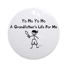 A Grandfather's Life For Me Ornament (Round)