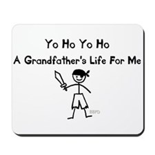 A Grandfather's Life For Me Mousepad