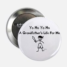 """A Grandfather's Life For Me 2.25"""" Button"""