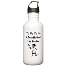 A Grandfather's Life For Me Water Bottle