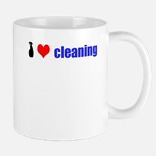 I Love Cleaning Mug