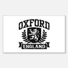 Oxford England Decal
