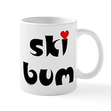 Ski Bum Heart Mug