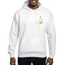 basenji holiday designs Hoodie
