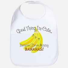 I Drive Mommy Bananas! Bib