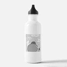Peace Talks (no text) Water Bottle