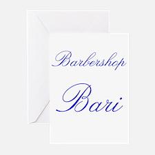Barbershop Bari Greeting Cards (Pk of 10)