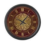 Victorian medallion Large Wall Clock