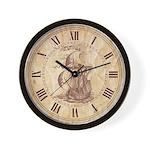 Vintage Sail ship Wall Clock
