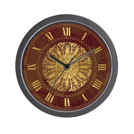 Victorian medallion Wall Clock