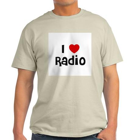 I * Radio Ash Grey T-Shirt