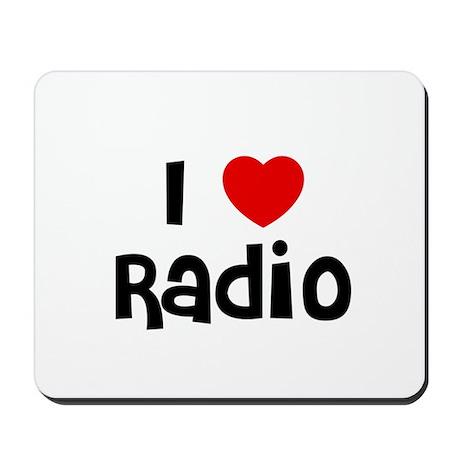 I * Radio Mousepad