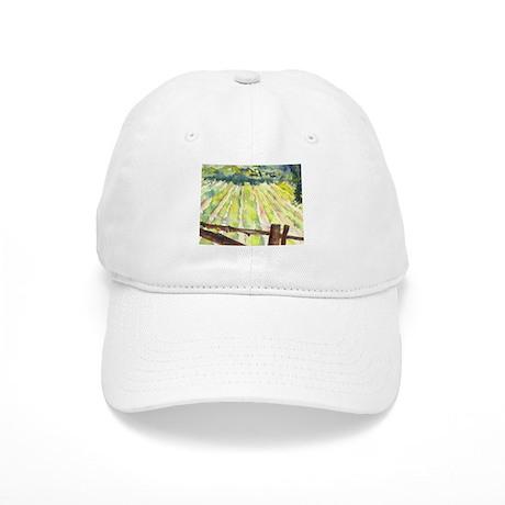 sunny napa vineyard Cap