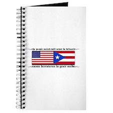 USA - Puerto Rico unite! Journal