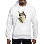 Siberian Husky Hooded Sweatshirt