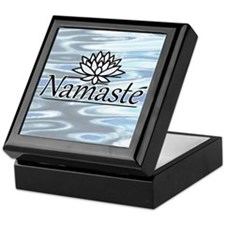 Namaste Lotus Ripple Keepsake Box