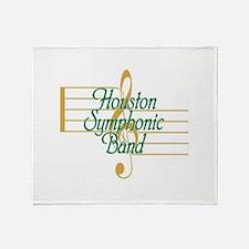 Unique Symphony Throw Blanket